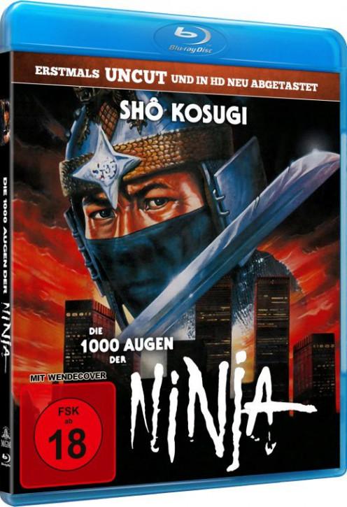 Die 1.000 Augen der Ninja [Blu-ray]
