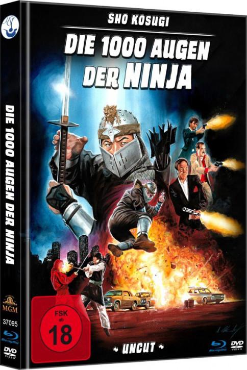 Die 1.000 Augen der Ninja - Limited Mediabook [Blu-ray+DVD]
