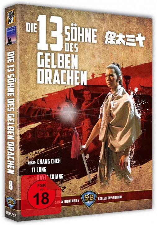 Die 13 Söhne des gelben Drachen - Shaw Brothers Collection 08 [Blu-ray+DVD]