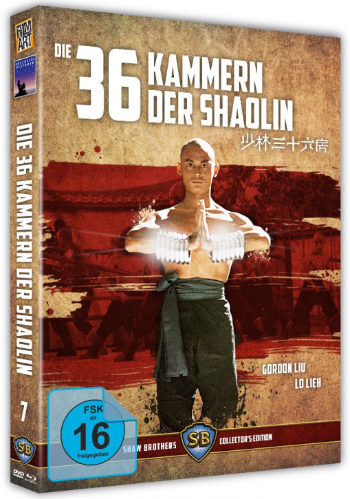 Die 36 Kammern der Shaolin - Shaw Brothers Collection 07 [Blu-ray+DVD]
