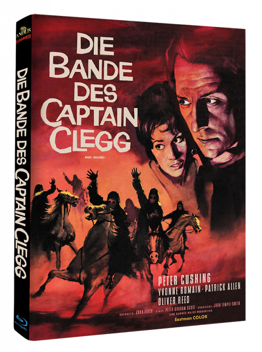 Die Bande des Captain Clegg - Hammer Edition Nr. 14 - Cover A [Blu-ray]
