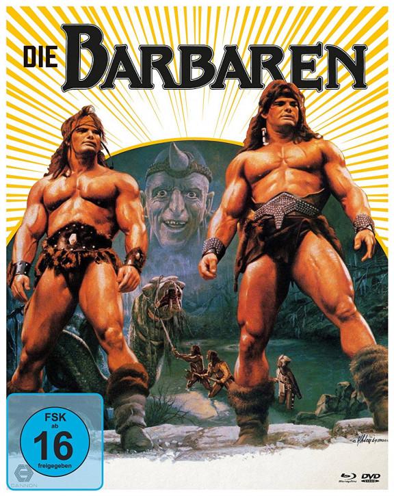 Die Barbaren - Limited Mediabook Edition [Blu-ray+DVD]