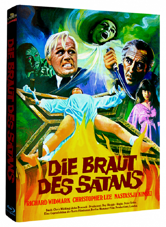 Die Braut des Satans - Hammer Edition - Cover A [Blu-ray]