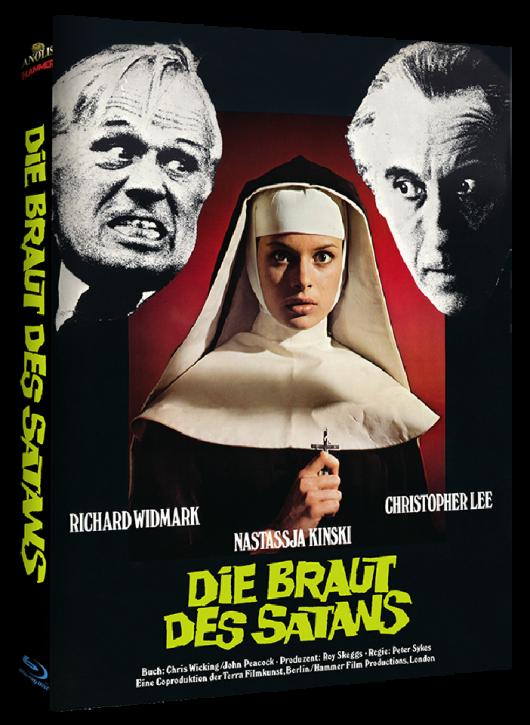 Die Braut des Satans - Hammer Edition - Cover B [Blu-ray]