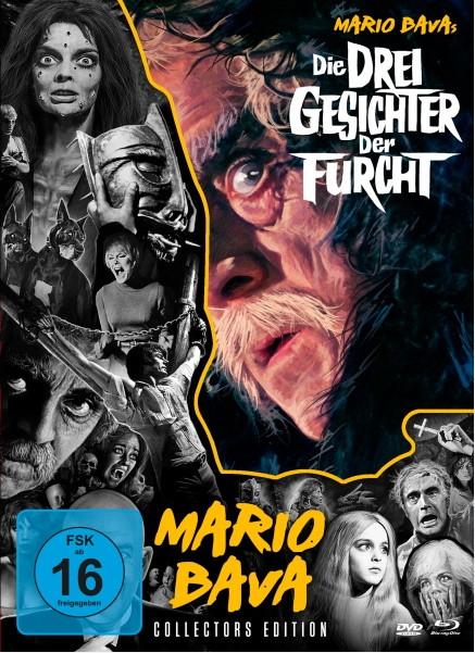 Die drei Gesichter der Furcht - Mario Bava-Collection #5 [Blu-ray+DVD]