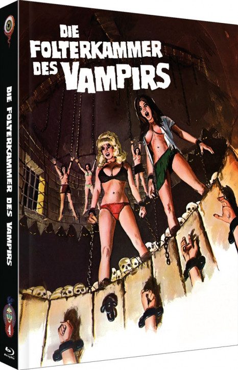 Die Folterkammer des Vampirs - Collector's Edition - Cover A [Blu-ray+DVD]