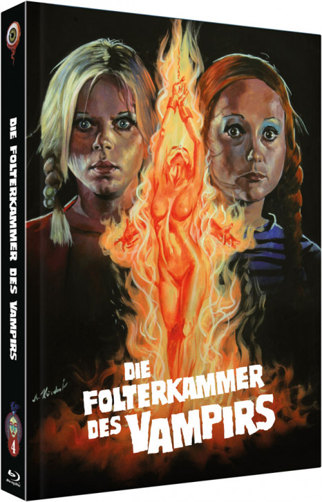 Die Folterkammer des Vampirs - Collector's Edition - Cover B [Blu-ray+DVD]