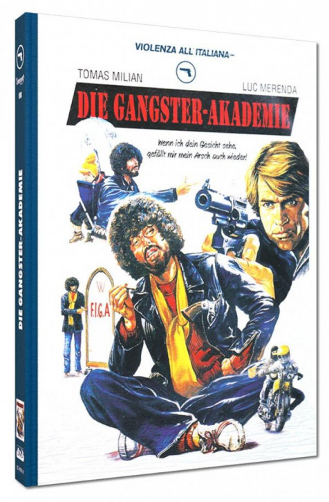 Die Gangster-Akademie - Limited Mediabook Edition - Cover A [Blu-ray+DVD]