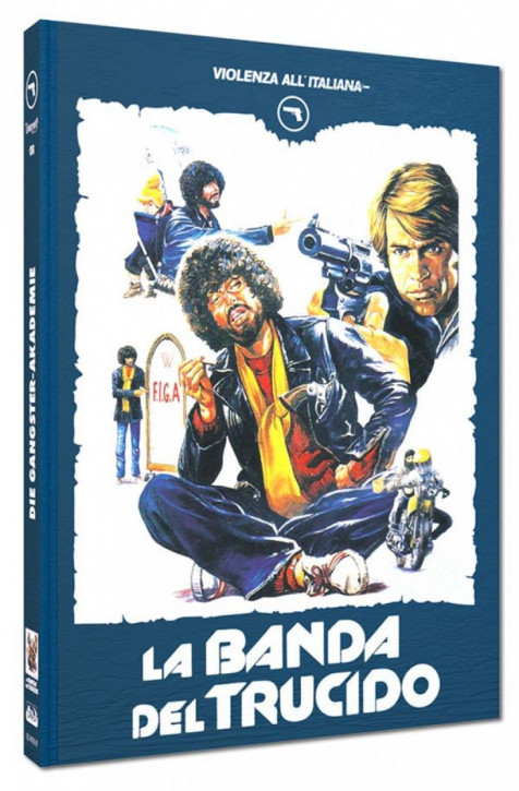 Die Gangster-Akademie - Limited Mediabook Edition - Cover B [Blu-ray+DVD]