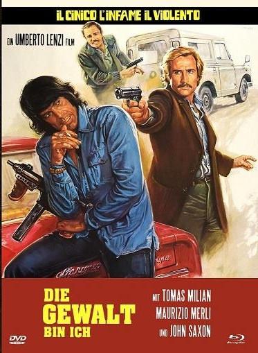 Die Gewalt bin ich - Eurocult Collection #042 - Mediabook - Cover A [Blu-ray+DVD]