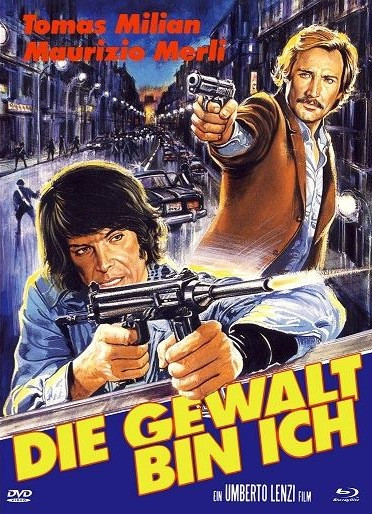 Die Gewalt bin ich - Eurocult Collection #042 - Mediabook - Cover B [Blu-ray+DVD]