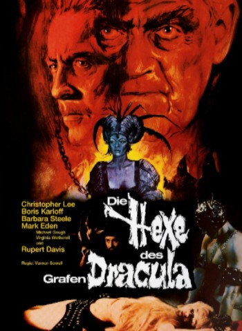 Die Hexe des grafen Dracula - Limited Collectors Edition #6 - Cover A [Blu-ray+DVD]