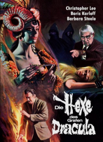 Die Hexe des grafen Dracula - Limited Collectors Edition #6 - Cover B [Blu-ray+DVD]