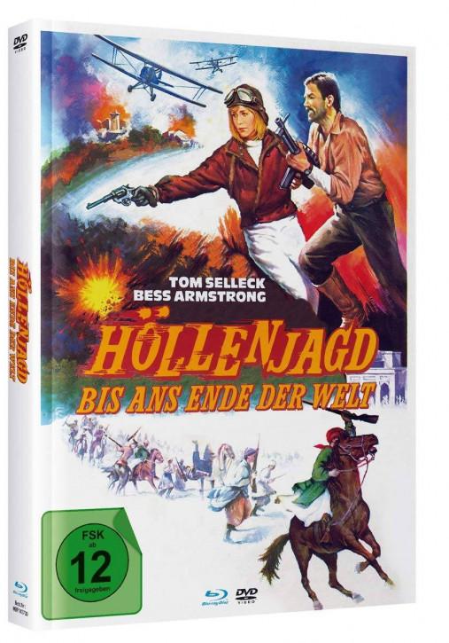 Höllenjagd bis ans Ende der Welt - Mediabook - Cover C [Blu-ray+DVD]