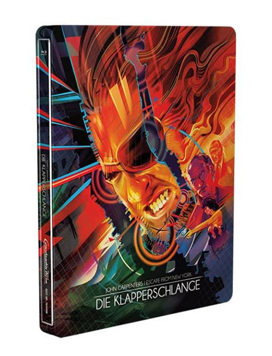 Die Klapperschlange - Steelbook [Blu-ray]