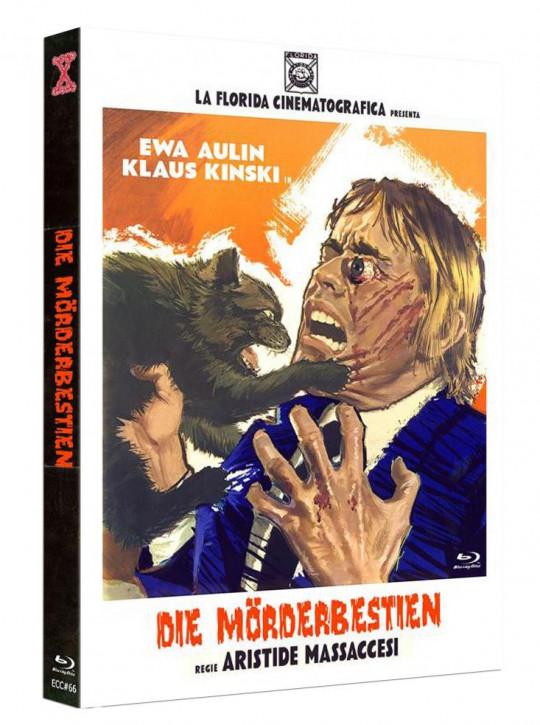 Die Mörderbestien - Eurocult Collection #066 - Mediabook - Cover A [Blu-ray+DVD]