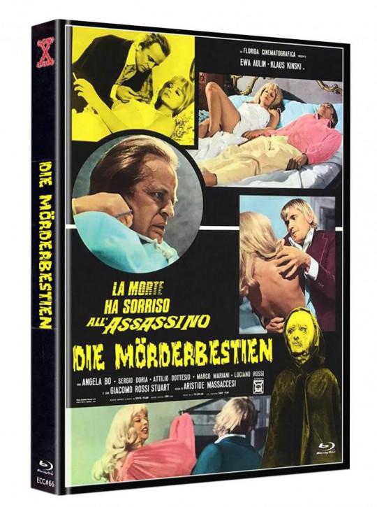 Die Mörderbestien - Eurocult Collection #066 - Mediabook - Cover B [Blu-ray+DVD]