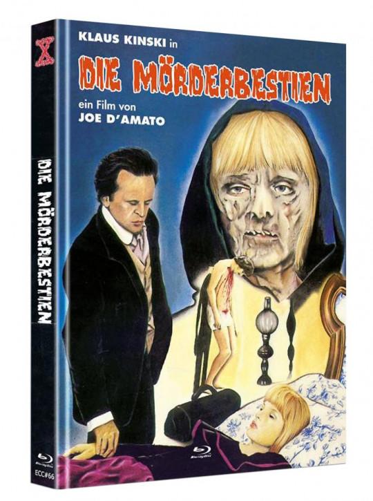 Die Mörderbestien - Eurocult Collection #066 - Mediabook - Cover C [Blu-ray+DVD]