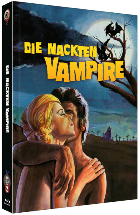 Die Nackten Vampire - Collector's Edition - Cover B [Blu-ray+DVD]