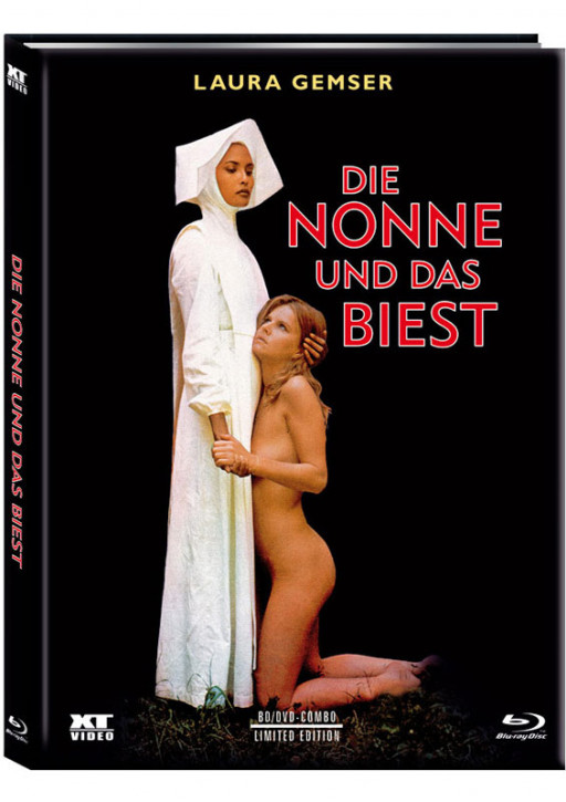 Die Nonne und das Biest - Limited Mediabook - Cover A [Blu-ray+DVD]
