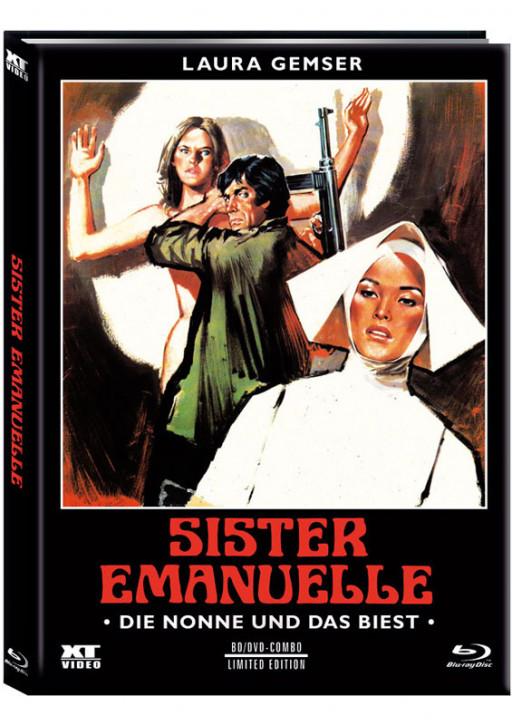 Die Nonne und das Biest - Limited Mediabook - Cover B [Blu-ray+DVD]