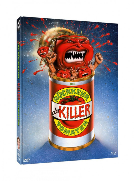 Die Rückkehr der Killertomaten - Limited Mediabook Edition - Cover A [Blu-ray+DVD]