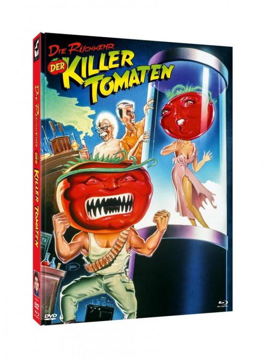 Die Rückkehr der Killertomaten - Limited Mediabook Edition - Cover B [Blu-ray+DVD]