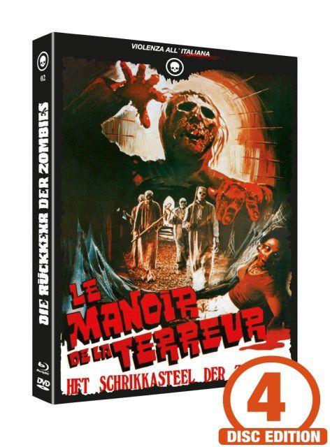 Die Rückkehr der Zombies - Mediabook - Cover B [Blu-ray+DVD+CD]
