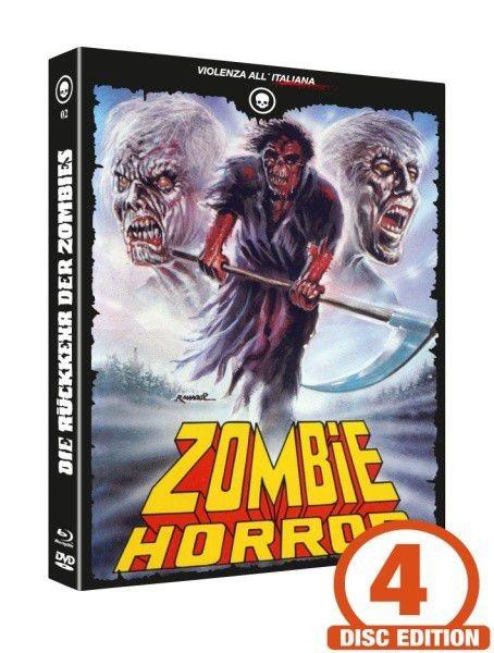 Die Rückkehr der Zombies - Mediabook - Cover D [Blu-ray+DVD+CD]