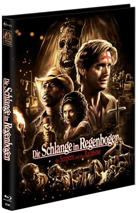 Die Schlange im Regenbogen - Limited Mediabook Edition [Blu-ray+DVD]