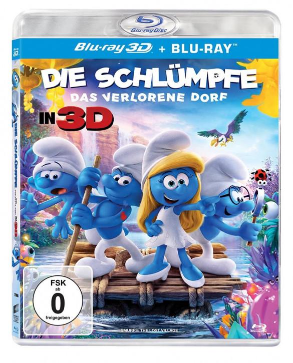 Die Schlümpfe - Das verlorene Dorf [3D Blu-ray]