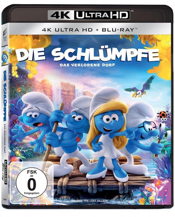 Die Schlümpfe - Das verlorene Dorf [4K UHD+Blu-ray]