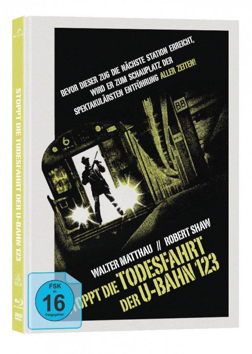Stoppt die Todesfahrt der U-Bahn123 - Collectors Edition Mediabook - Cover B [Blu-ray+DVD]