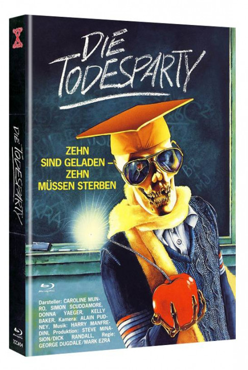Die Todesparty - International Cult Collection #04 - Mediabook - Cover A [Blu-ray+DVD]