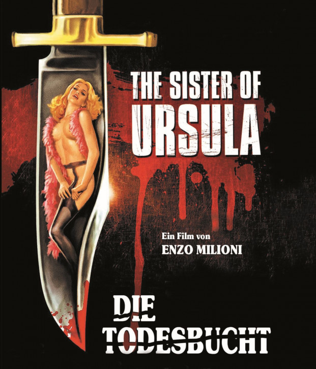 Die Todesbucht - The Sister of Ursula - Cover B [Blu-ray]