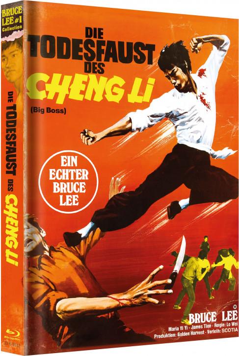 Bruce Lee - Die Todesfaust des Cheng Li - Limited Mediabook [Blu-ray+DVD]
