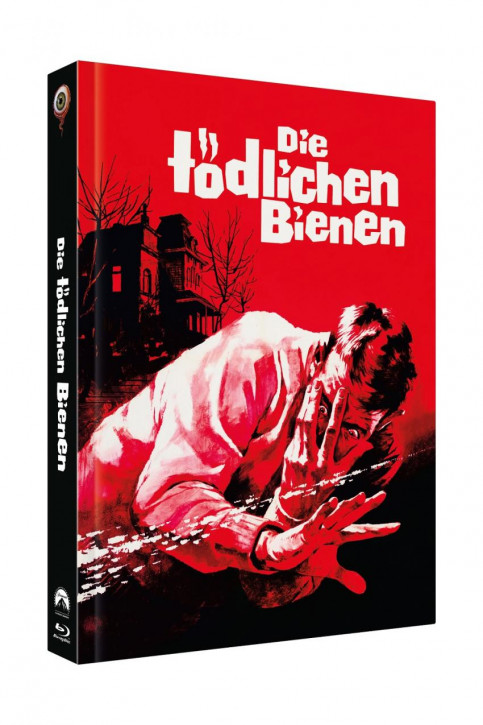 Die tödlichen Bienen - Limited Collectors Edition Mediabook - Cover A [Blu-ray+DVD]