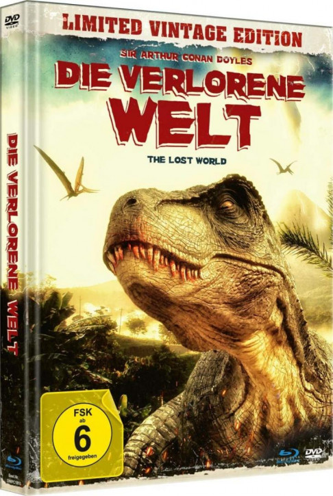 Die verlorene Welt - The Lost World - Limited Mediabook Edition [Blu-ray+DVD]