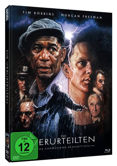 Die Verurteilten - Limited Mediabook Edtion - Cover B [Blu-ray+DVD]