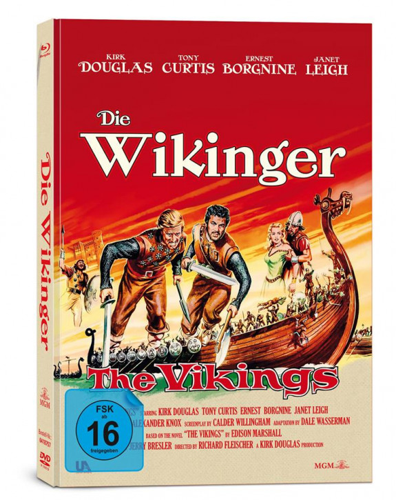 Die Wikinger - Limited Collector's Edition [Bluray+DVD]