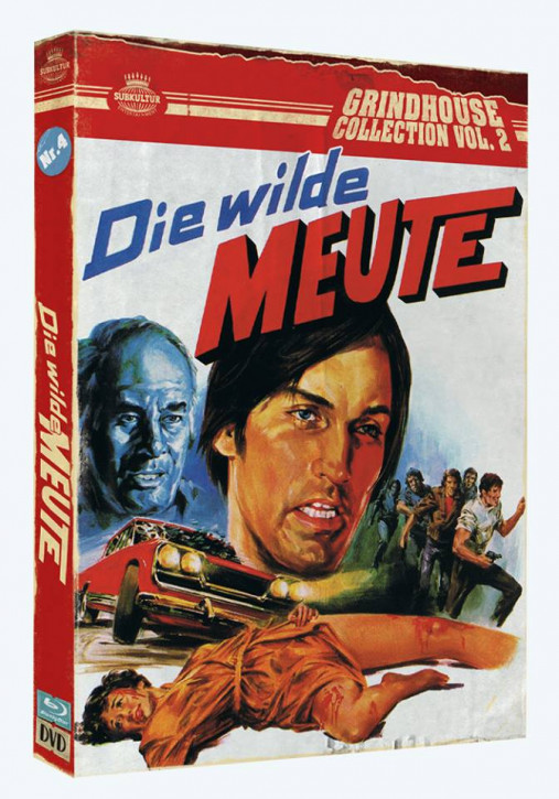 Die wilde Meute - Grindhouse Collection Vol. 2 - No. 4 [Blu-ray+DVD]