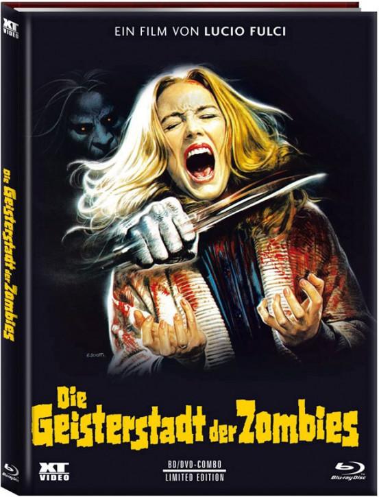 Die Geisterstadt der Zombies- Mediabook - Cover C  [Blu-ray+DVD]