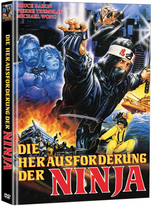 Die Herausforderung der Ninja - Limited Mediabook Edition - Cover A [DVD]