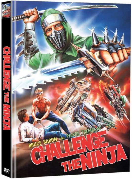 Challenge The Ninja - Limited Mediabook Edition - Cover B [DVD]