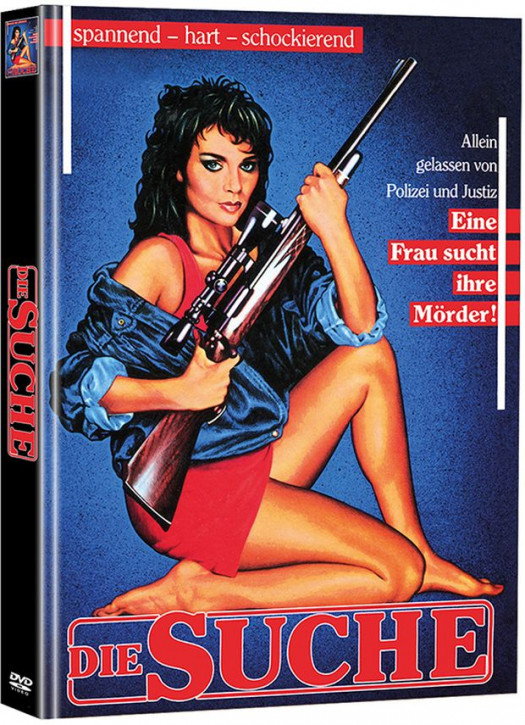 Die Suche - Limited Mediabook Edition - Cover A [DVD]