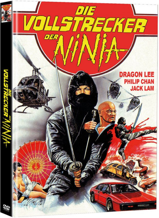 Die Vollstrecker der Ninja - Limited Mediabook Edition - Cover A [DVD]