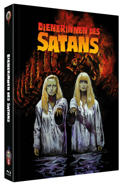 Dienerinnen des Satans - Collector's Edition - Cover C [Blu-ray+DVD]