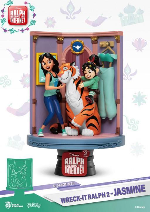 Disney: Diorama Stage 25 - Jasmine & Vanellope