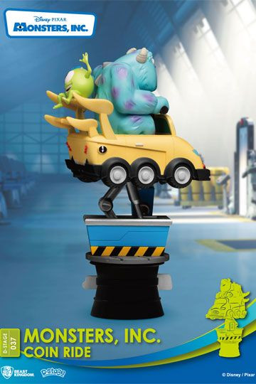 Disney: Diorama Stage 37 - Monster Inc - Coin Ride
