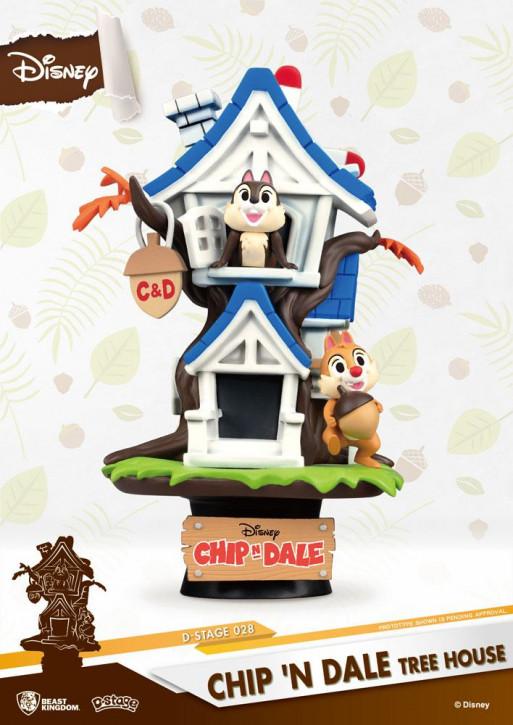 Disney: Diorama Stage 28 - Chip und Chap Baumhaus
